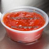Relleno de la taza de la salsa de chile y máquina del lacre
