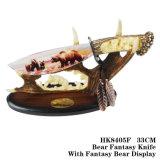 Ornamento 33cm HK8405A/B/C/D/E/F della casa della lama di Fanstasy del mestiere della bestia