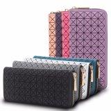 형식 현대 검사 패턴 긴 클러치 여자 지갑 (MBNO043088)