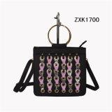 Os ilhós decoraram a bolsa Zxk1700 das senhoras do plutônio da forma