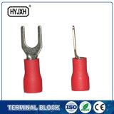 Terminais pre isolados da forquilha do terminal e da SV do talão da pá da fonte do fabricante de China