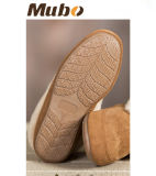 クリの慰めの羊皮の女性偶然靴