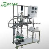 Sistema de la destilación del camino corto para la destilación fraccionada del petróleo crudo