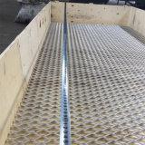 Acoplamiento ampliado aluminio del metal