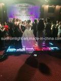 Étage de danse infini de miroir de la disco DEL 3D de mariage d'événement