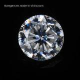 최상 9개 심혼 & 꽃 합성 Moissanite 1개의 다이아몬드