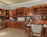 新しいモデルのアメリカの食器棚のSoild木製の実質木