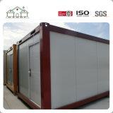 Casa usada pré-fabricada padrão do contentor do bloco liso