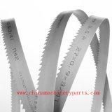 Высокая скорость пилы HSS стальной ленты биметаллической пластины