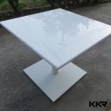 Restaurante Pedra de acrílico Mobiliário Kfc Café mesas e cadeiras