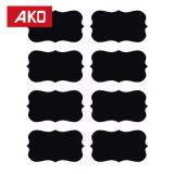 Commerce de gros Portable adhésives fortes pièce ronde point brun autocollant étiquette autoadhésif