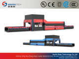 Línea de transformación de doblez curvada cruz del vidrio del endurecimiento de Southtech (HWG)