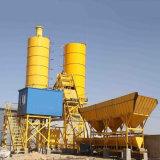 Beton 75m3/H die overzee van de Dienst van Naverkoop het Modulaire Stationaire het Groeperen Installatie mengen (HZS75)