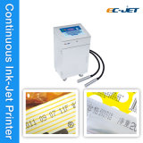 Срок годности печатание принтера Ink-Jet Двойн-Головки непрерывный (EC-JET910)