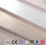 Placa impermeável do cimento da fibra da resistência de incêndio para a divisória da parede