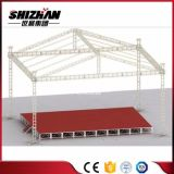 Алюминиевая ферменная конструкция крыши с портативным этапом для сбывания