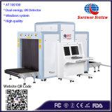 На рентгеновской установке аэропорта рентгеновского удержания багажа / грузовые машины сканирования