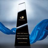 Bricolaje trofeo de cristal el premio al mejor empleado el mejor equipo de la Reunión Anual de la empresa Precio Trofeo mejor Persona del Año