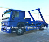 4X2 HOWO 10m3, 12m3 het Broodje van het Wapen van Skip van de Collector van het Afval laderVuilnisauto