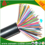 Câble de commande protégé engainé par PVC offensant par PVC de câble souple de LSZH