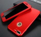 Полное падение случая раковины мобильного телефона новые 360 мягкий защитный чехол раковины для iPhone