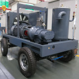 180cfm Cummins Dieselmotor-beweglicher Schrauben-Luftverdichter für Sandstrahler
