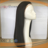 Peluca natural del cordón del pelo humano del color (PPG-l-0248)
