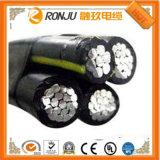 UL21064 flama flexível - baixo cabo protegido do fio do halogênio do fumo PE livre retardador