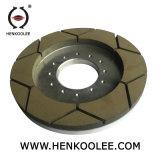 250 X140-6M8 (165) -25x15mm Rim Resin-Bond continuo de la rueda de molienda húmeda de diamantes