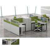 Estación de trabajo de escritorio de los muebles de oficinas del sistema en de madera