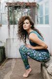Yoga-Eignung-Gamaschen, Sportkleidung, Activewear, Gymnastik-Kleidung, Training, Frau, laufend
