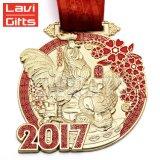 カスタム金属の柔らかいエナメルのスポーツ賞のかわいいひよこの漫画メダル