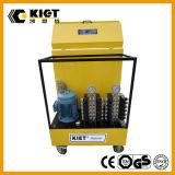 Sistema de elevación síncrono de frecuencia del doble del PLC del control temporario de la conversión