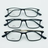 Metal Temple를 가진 가벼운 Plastic Steel Fashion New Design Optical Eyewear Frames