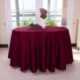 Mantel rectangular del restaurante de la boda del partido del hotel del mantel del poliester del paño de lujo de la mesa redonda