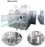 Beber água gaseificada automática total fábrica de engarrafamento de processamento de bebidas máquina de enchimento