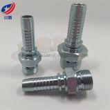 Double utilisation 10611 mâle métrique convenable pour l'embout de durites hydraulique de joint métallisé de portée de cône de 60 degrés