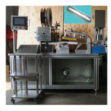 Enchimento da salsicha da máquina de enchimento da colagem do silicone e maquinaria automáticos da selagem