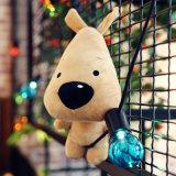 2017 vendas quentes personalizaram o brinquedo do urso do luxuoso dos desenhos animados pouco