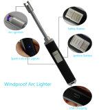 Plástico USB Acendedor de arco eléctrico, Butano livre, com 360 cotovelo flexível
