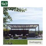 Toit en aluminium décoratif populaire de patio de profil pour la tente de parasol de terrasse
