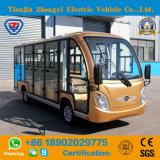 Nieuw Ontwerp 14 Bus van het Sightseeing van Zetels 72V de Elektrische met Ce- Certificaat