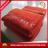 Zubehör-Zoll gedruckte Superweiche-Polyester-Zudecke 100% für Fluglinie