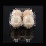 Comercio al por mayor de células claras de huevo de plástico 10 bandeja