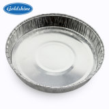 Zurückführbarer runder Aluminiumfolie-Behälter
