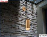 現代銅の金属のホテルのプロジェクトのための単一の壁ランプ