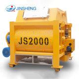 Prix raisonnable avec le mode entièrement automatique JS2000 Bétonnière