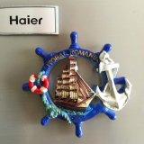 Lieux touristiques Well-Sold Roumanie Cadeau souvenir Polyresin Fridge Magnet 3D
