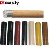 El uso de la Barandilla de PVC PVC pasamanos de madera decorativa redonda