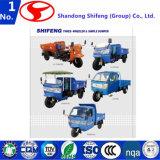 7yp-1750dB1/Transportation/Load/Carry pour le dumper de trois-roues de 500kg -3tons avec la cabine